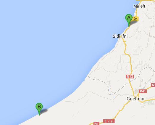 Legzira-Fort Bou Jerif