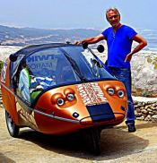 Rainer: TWIKE Pilot (TW583), Fahrpraxis seit 2004 (!), bereits schon zweimal mit dem TWIKE Marokko erfahren; wird ab Tanger die Marokkofahrt begleiten.