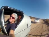 Silvia: TWIKE Pilotin (TW973) seit 2011, bereits das TWIKE u.a. in Canada, Dänemark, Island und Marokko gefahren.